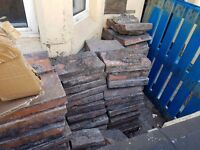 Quarry tiles and bricks free to collector