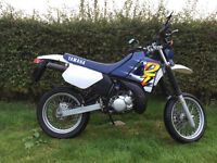 YAMAHA DT 125 R SUPER MOTARD ONLY 8578 MILES 1997 IN OUTSTANDING CONDITION DTR