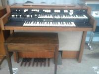 Genuine Working Vintage Hammond L102 tonewheel organ