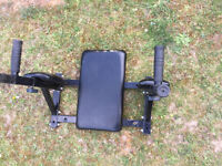 """Dip Bar / Leg raise station - Wall mounted , great for """"V"""" lines - abs & Chest/Arms"""