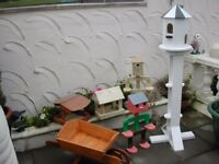 hand made garden items other ornaments can be made on your request start price £10