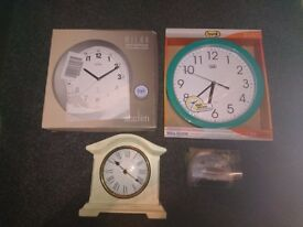 Quantity of stunning wall clocks for sale / Brand New…