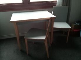 For Sale Dining Table 2 Chairs