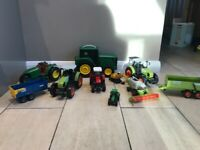 Kids tractors toys