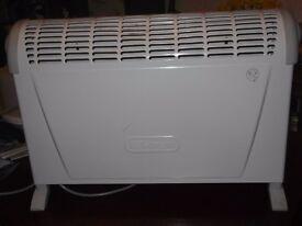 Delonghi electric fire good condition, temperature control. 10.00 ono