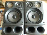 2x Sony Speakers