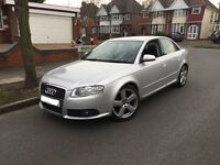 *PRICE DROP!*FULLY LOADED* 2007 AUDI A4 S LINE 2.0 TDI 140 AUTO CVT SILVER *FULL HISTORY*