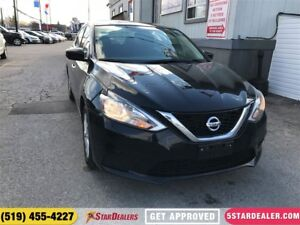 2017 Nissan Sentra 1.8 SV   ONE OWNER   ROOF   HEATED SEATS