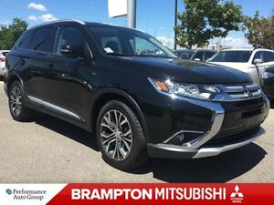 2016 Mitsubishi Outlander GT (7-PASSENGER! LEATHER INTERIOR!)