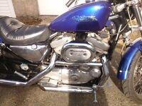 Harley Davidson Hugger 1200cc.