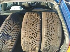 Winter tyres 245/50/18 & 275/45/18 Panamera