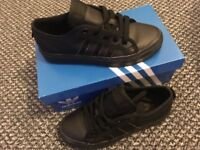 Black size 3 Addidas Trainers