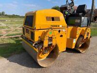 TEREX TV1200 twin drum roller