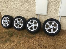 BMW 318i Wheels For Sale (Tyres not Legal)