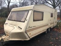 4 berth bessacarr cameo 550gl. I can deliver