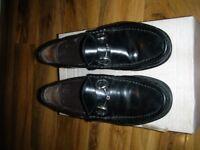 Gucci Horsebit Loafers - size 41E (7.5)