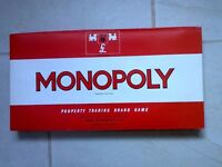 Vintage Monopoly game
