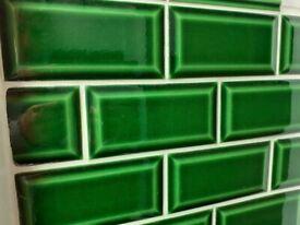 Metro Green Victoria Tiles