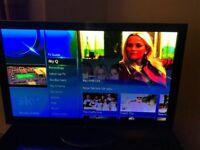 """PANASONIC 55""""PLASMA TELEVISION HD-3D. EXCELLENT CONDITION. BARGAIN. £300.00"""