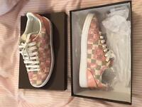 Lv pink shoes