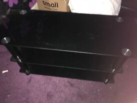Selling Black Gloss Glass Tv Stand 42 Inch