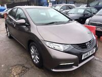 Honda Civic 1.4 i-VTEC SE Hatchback 5dr£7,595 p/x welcome 1 YEAR FREE WARRANTY. NEW MOT