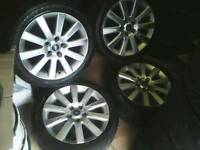"""Ford Focus mondeo transit connect Galaxy smax cmax 17"""" alloy wheels 5\108"""