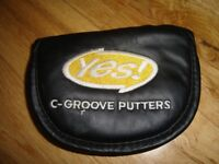 YES! C-Groove Putter Cover