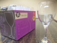 60 wedding wine glasses