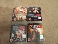 PS3 WWE Legends of Wrestlemania - SmackDown Vs. Raw 2010 and 2011 - WWE 12