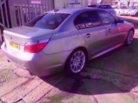 2007 BMW 5 SERIES 3.0TD 530d M Sport 4dr SAT NAV, LEATHER SEATS