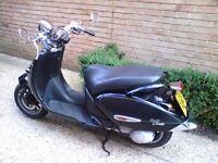 Aprilia Mojito 50cc custom scootor