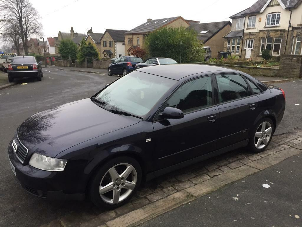 2003 audi a4 1 8 t quattro s line sport service history not a3 tdi 130 in bradford west. Black Bedroom Furniture Sets. Home Design Ideas