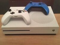 Xbox 1 s 1TB console with extra controller
