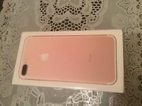 iPhone 7 plus 32gb rose gold on Vodafone .... SEALED