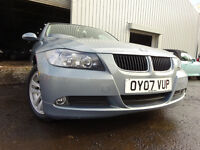 07 BMW 318I SE,MANUAL 2.0,MOT FEB 017,2 OWNERS FROM NEW,PART SERVICE HISTORY,STUNNING EXAMPLE