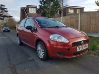 Fiat Grande Punto 2006 1.2 Petrol Active Red Hatchback 3dr Full MOT
