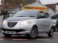 2012 REG CHRYSLER YPSILON S 1.2cc 5 DOOR......Call PaisleyCarSales on 01418899200 / Mob. 07895607121