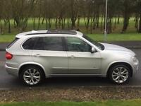 2009 BMW X5 35D X DRIVE M SPORT *XENONS* *PAN-ROOF* *REAR-TVS* FSH FULLY LOADED 4X4 X6 £6K EXTRAS