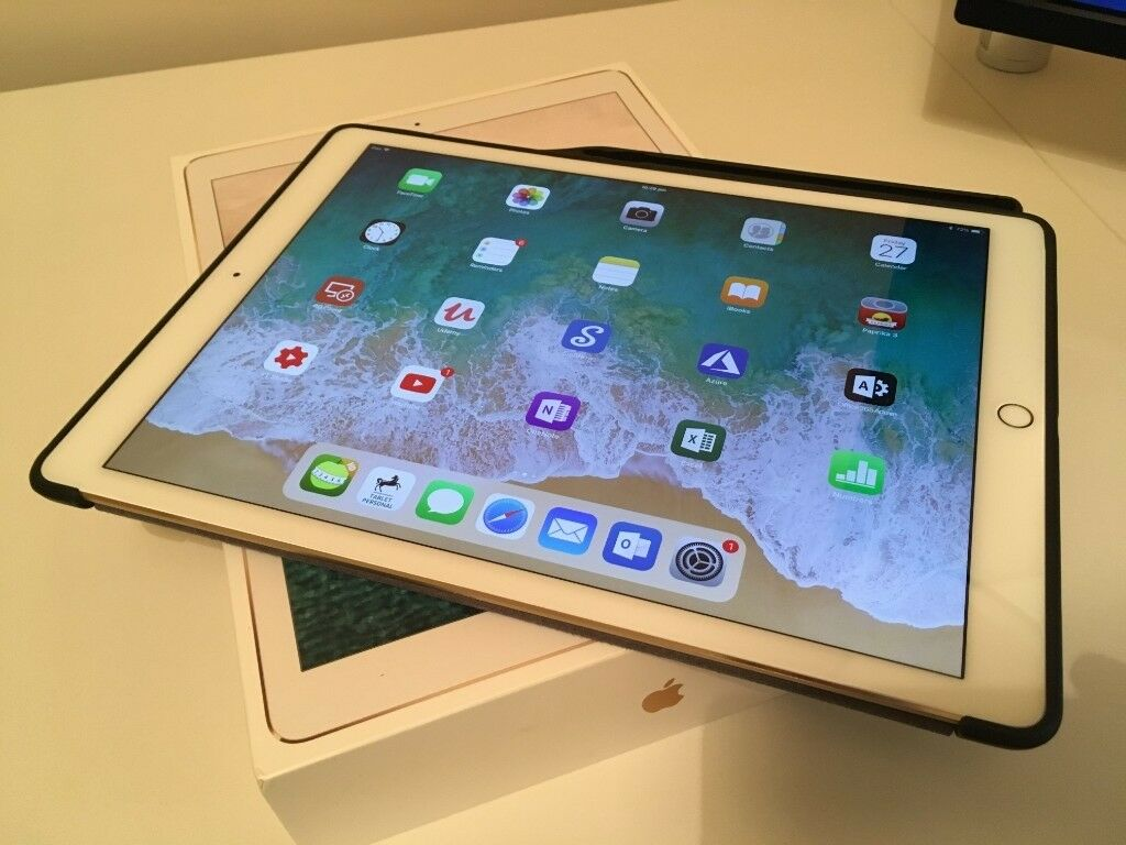 Apple Ipad Pro 12 9 2017 Wifi 64 Gb Gold With Apple Pencil Like