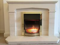 Dimplex fire and fireplace