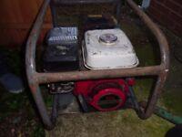 Used Honda GX140 5HP Petrol Generator 3KVA
