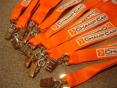 10 INDYCAR CHAMP CAR CART LANYARDS INDY 500 Open Wheel CHAMPCAR MUSTANG FORD VIP