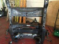 mercedes sprinter w906 front bed/cradle frame complete no steering rack 2013
