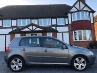 VW GOLF AUTOMATIC DIESEL, 08 REG, 80K MILES, HPI CLEAR, NEW TIMING BELT, 1 YR MOT, DRIVES MINT