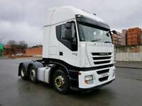 2008 IVECO STRALIS AS440S45 EURO 5 ACTIVESPACE FACE-LIFT 6X2 450BHP 12 SPEED IN IMMACULATE CONDITION