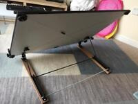 A1 standard desk top drawing board +handle increments WAS 88.99