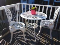 Cast iron garden table chairs stunning
