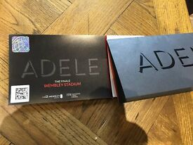 2 x Adele Standing General Admission Tickets Sun 2nd July at Wembley Stadium