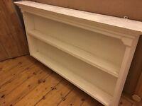 Distressed shelf